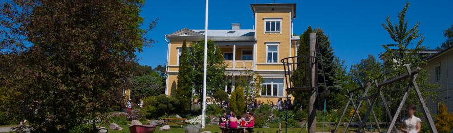 Vår föreningsgård Lindängen